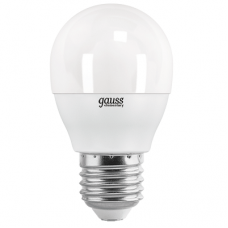 Лампа Gauss LED Elementary Glob E27 6.5Вт 4100К