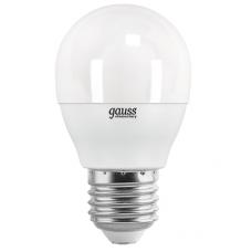 Лампа Gauss LED Elementary Glob E27 6.5Вт 4100К