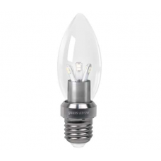 Лампа Gauss LED Candle Crystal clear E27 5.0Вт 4100К