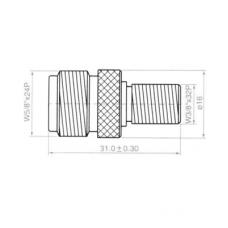 Переход F(female) - N(female) медь H3028