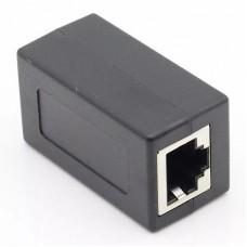 Компьютерный проходник RJ45(8P8С) черный