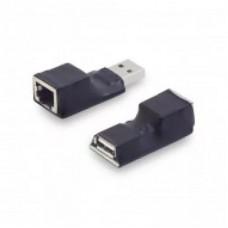 USB удлинитель AM-AF/RJ45 по витой паре активный